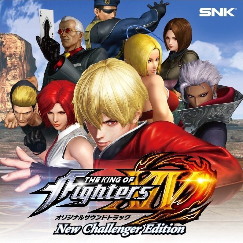 THE KING OF FIGHTERS XIV Original Soundtrack New Challenger Edition