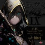 Ys IX -Monstrum NOX- ORIGINAL SOUNDTRACK mini [CODE:Black]