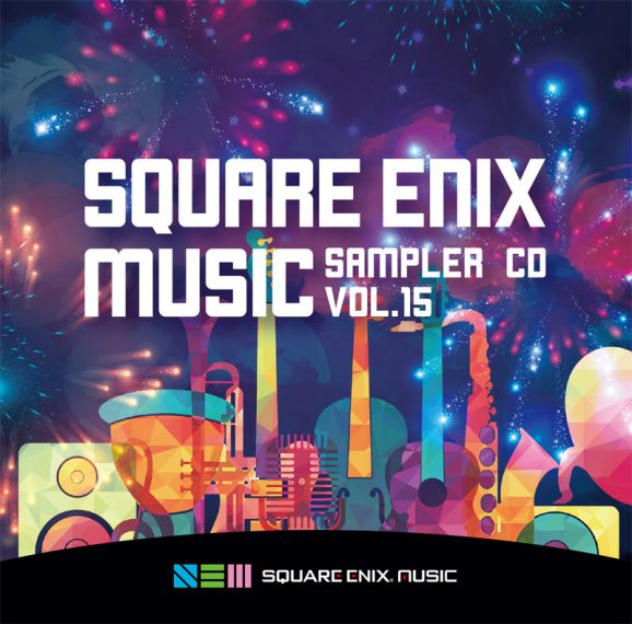 SQUARE ENIX MUSIC SAMPLER CD Vol.15